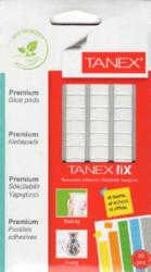 lepící hmota Tanex 50g/80ks bílá-Adhezivní , snímatelný bílý tmel pro fixaci předmětů.