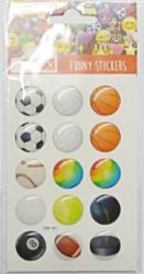 a samol.3D TDE-107 míče 15ks-1 aršík