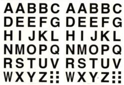 a samol.písmena STC-404 16x19 60ks(8698807750819)