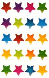 a samol.STC-122 hvězdy mix 22 x 21 60ks-3 aršíky