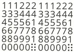 a samol.čísla STC-410 10x15 72ks(8698807756873)