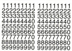 a samol.čísla STC-412 10x10 162ks(8698807761310)
