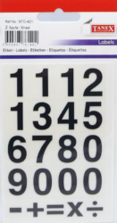 a samol.čísla STC-421 13x20 32ks-2 aršíky