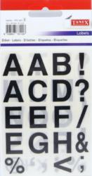 a samol.písmena STC-423 16x19 60ks tučná-3 aršíky