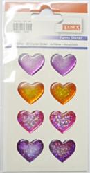 a samol.3D TDE-148 srdce hologram 8ks-1 aršík