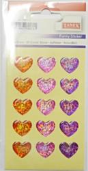 a samol.3D TDE-114 srdce hologram 15ks-1 aršík