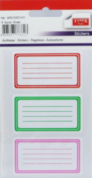 a samol.linkované BRD-5303 mix barev 12ks-4 aršíky