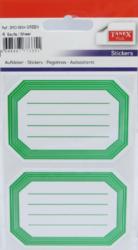 a samol.linkované BRD-5604 zelené 8ks-4 aršíky