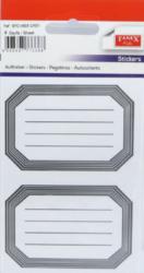 a samol.linkované BRD-5606 šedé 8ks-4 aršíky