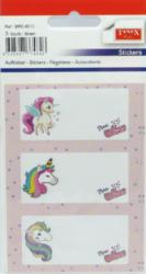 a samol.na sešit BRD-6012 Unicorn 9ks-3 aršíky