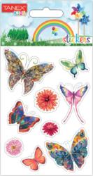 a samol.STC-10007 motýl mix 18ks-2 aršíky