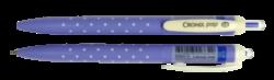 kuličkové pero Cronix POP 0,5mm modré-plastové tělo, hrot 0,5 mm