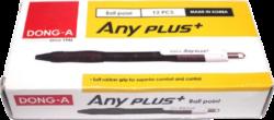 kuličkové pero Any plus+ 0,5 mm modré - MIX barev(8802203043219)