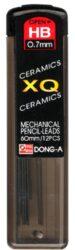 tuhy do mikrotužek  0,7 HB XQ ceramics 12 ks