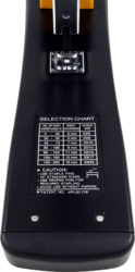 sešívačka Raion FL-12M20 černá 200l(8901238100291)