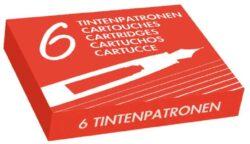 zásobník inkoustový 6 ks - červený