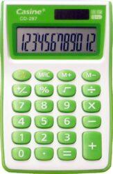kalkulačka Casine CD-287 zelená-12 míst, zelená