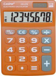 kalkulačka Casine CD-276 oranžová-8 míst, velká tlačítka, oranžová