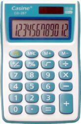 kalkulačka Casine CD-287 modrá-12 míst, modrá