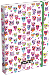 box na sešity A5 Lollipop Light Owl 17340223