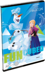 sešit A5 32l linka Frozen Fun 18359423
